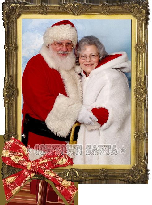 Mr. & Mrs. Cowtown Santa